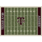 """Texas A & M Aggies 7' 8"""" x 10' 9"""" NCAA Home Field Area Rug"""