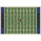 """Baltimore Ravens 5' 4"""" x 7' 8"""" NFL Home Field Area Rug"""