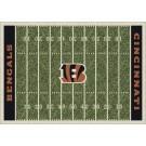 """Cincinnati Bengals 5' 4"""" x 7' 8"""" NFL Home Field Area Rug"""