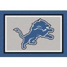 "Detroit Lions 5' 4"" x 7' 8"" Team Spirit Area Rug"