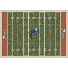 """Miami Dolphins 5' 4"""" x 7' 8"""" NFL Home Field Area Rug"""