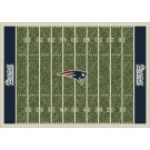 "New England Patriots 5' 4"" x 7' 8"" NFL Home Field Area Rug"