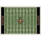 "New Orleans Saints 5' 4"" x 7' 8"" NFL Home Field Area Rug"