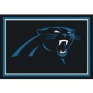 """Carolina Panthers 5' 4"""" x 7' 8"""" Team Spirit Area Rug (Blue)"""