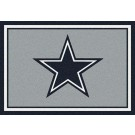 "Dallas Cowboys 5' 4"" x 7' 8"" Team Spirit Area Rug (Gray)"