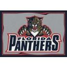 """Florida Panthers 2' 8"""" x 3' 10"""" Team Spirit Area Rug"""