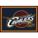 "Cleveland Cavaliers 3' 10"" x 5' 4"" Team Spirit Area Rug"