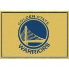 """Golden State Warriors 2' 8"""" x 3' 10"""" Team Spirit Area Rug"""