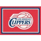 "Los Angeles Clippers 2' 8"" x 3' 10"" Team Spirit Area Rug"