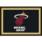 """Miami Heat 2' 8"""" x 3' 10"""" Team Spirit Area Rug"""