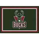 """Milwaukee Bucks 2' 8"""" x 3' 10"""" Team Spirit Area Rug"""
