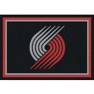"Portland Trail Blazers 5' 4"" x 7' 8"" Team Spirit Area Rug"