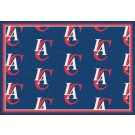 "Los Angeles Clippers 2' 1"" x 7' 8"" Team Repeat Area Rug Runner"