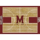 "Maryland Terrapins 5' 4"" x 7' 8"" Home Court Area Rug"