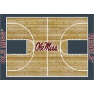 "Mississippi (Ole Miss) Rebels 7' 8"" x 10' 9"" Home Court Area Rug"
