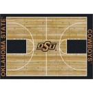 "Oklahoma State Cowboys 5' 4"" x 7' 8"" Home Court Area Rug"