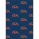 "Mississippi (Ole Miss) Rebels 5' 4"" x 7' 8"" Team Repeat Area Rug"