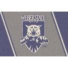 """Weber State Wildcats 22"""" x 33"""" Team Door Mat"""