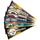 "NFL Team Pennants 12"" x 30"" - Set of 32 National Football League Teams"