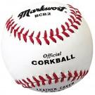 """6 1/2"""" Official White Corkballs from Markwort - (One Dozen)"""