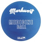Rubber Medicine Training Ball from Markwort - 4.4 lbs/2 kg