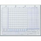 Glover's Baseball / Softball Scoring Sheets (50 Games)