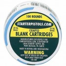 .22 Caliber CRIMPED Blanks / Ammo - 100 Rounds  (For use with Starter Pistols / Starter Guns)
