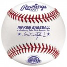 Cal Ripken Division With Raised Seam Baseballs for Game Play from Rawlings - One Dozen