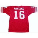 Joe Montana, San Francisco 49ers Autographed Authentic Old Style Throwback Football Jersey