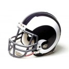 """Los Angeles Rams (1965-1972) Riddell Full Size """"Old Style Throwback"""" Authentic Football Helmet"""