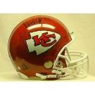 Marcus Allen, Kansas City Chiefs Official Riddell Pro Line Autographed Authentic Full Size Football Helmet