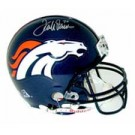 Terrell Davis, Denver Broncos Official Riddell Pro Line Autographed Authentic Full Size Football Helmet