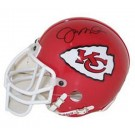 Joe Montana, Kansas City Chiefs Autographed Riddell Authentic Mini Football Helmet