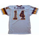 Brad Johnson, Washington Redskins Official NFL Autographed Authentic Ripon Football Jersey