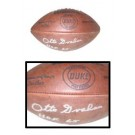 "Otto Graham, Cleveland Browns Autographed Wilson Official NFL ""Duke"" Game Model Football - Signed ""HOF 65"""