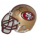 Steve Young, San Francisco 49ers Autographed Riddell Authentic Mini Football Helmet