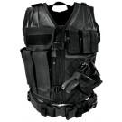 Black Tactical Vest (Larger Size, XL-2XL)