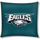 "Philadelphia Eagles 18"" x 18"" Cotton Duck Toss Pillow"