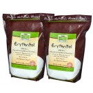 NOW Real Food™ Erythritol Natural Sweetener - 2.5 lb. Bag (Two Pack)