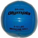 9 - 10 lb. Medicine Ball from Olympia Sports (Set of 2)