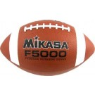 Intermediate Deluxe Rubber Football From Mikasa (Set of 3)