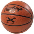 Intermediate / Women's Wide Channel Synthetic Leather Basketball From Rawlings (Set of 2)