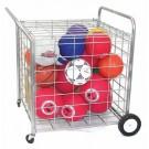 Lock-Up Security Ball Locker / Cart
