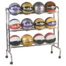 3 Shelf 12 Ball Economy Ball Rack