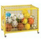 """Deluxe 42"""" Long Yellow Grid Locker"""