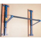 Deluxe Adjustable Wall Mounted Chinning Bar