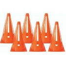 "9"" Orange Safety Cones - 1 Dozen"