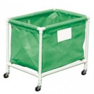 Green PVC Laundry and Equipment Cart