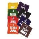 Numbered Bean Bags (Set of 2)