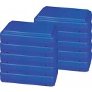 """6"""" Blue Fitness Step (Pack of 5)"""